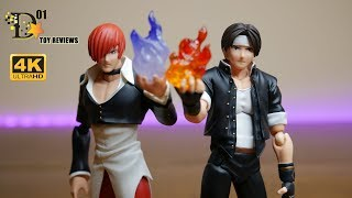 Toy Review: Figma Kyo and Iori from SNK