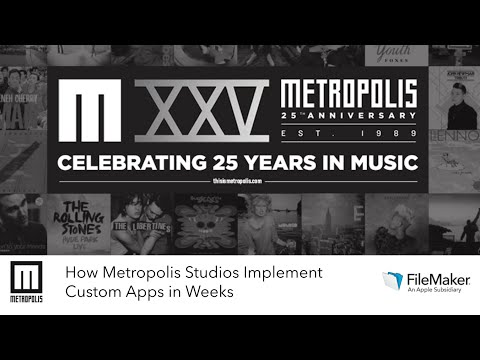 Webinar: How Metropolis Studios Implement Custom Apps in Weeks Presentation