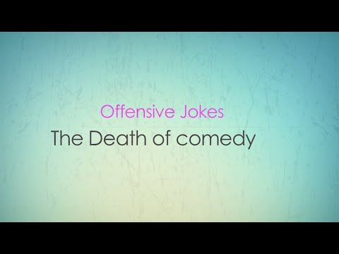 (offensive Jokes) The Death of Comedy (18+ only)