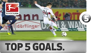 Delicate Dinks and Long-Range Beauties - Top 5 Goals on Matchday 21