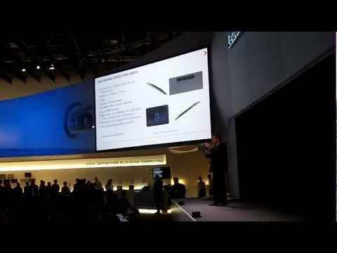 Toshiba AT200 Tablet Presentation at IFA 2011