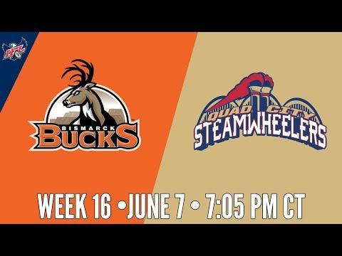 IFL Week 16 | Bismarck Bucks at Quad City Steamwheelers