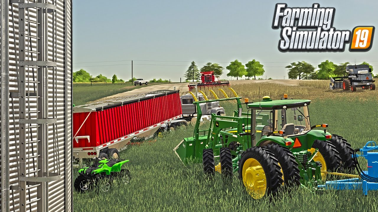 HARVEST TIME | NEW GAME PLAY | ABILITY TO LEAN AND SEE OUTSIDE THE CAB (ROLEPLAY) FS19 MISSOURI