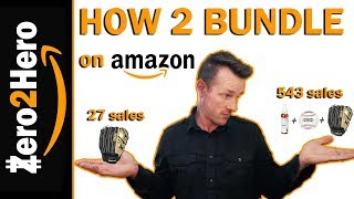 How to BUNDLE PRODUCTS on amazon fba for beginners