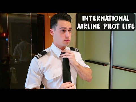 INTERNATIONAL AIRLINE PILOT LIFE | China - VLOG