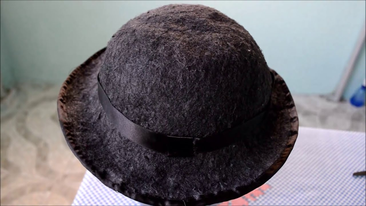 f8c1da679194c Como fazer chapéu de tecido - YouTube
