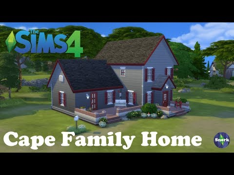 Cape Family Home - Sims 4 Speed Build