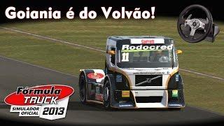 Goiania é do Volvão! =D | Fórmula Truck 2013 + Logitech G25 [PT-BR]
