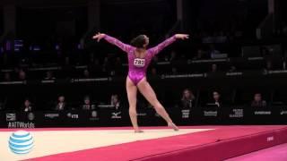 Aly Raisman- Floor - 2015 World Championships - Women's Qualifying