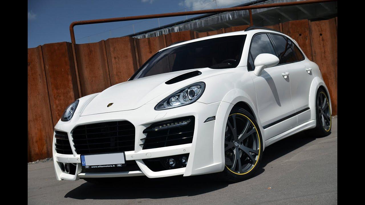 Techart Magnum Based On Porsche Cayenne Turbo 958 By Elite