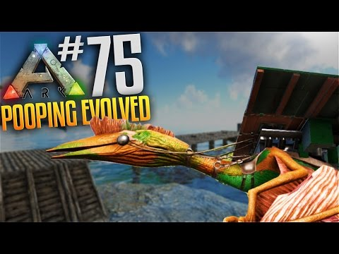 ARK Survival Evolved Tribes Gameplay - S3 Ep 75 - Quetzal Platform