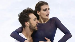 Gabriella Papadakis breaks own record and wins Winter Olympic silver medal after wardrobe malfunctio