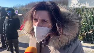 Emergenza sanitaria in Molise, cittadini e comitati protestano davanti all'ospedale Cardarelli
