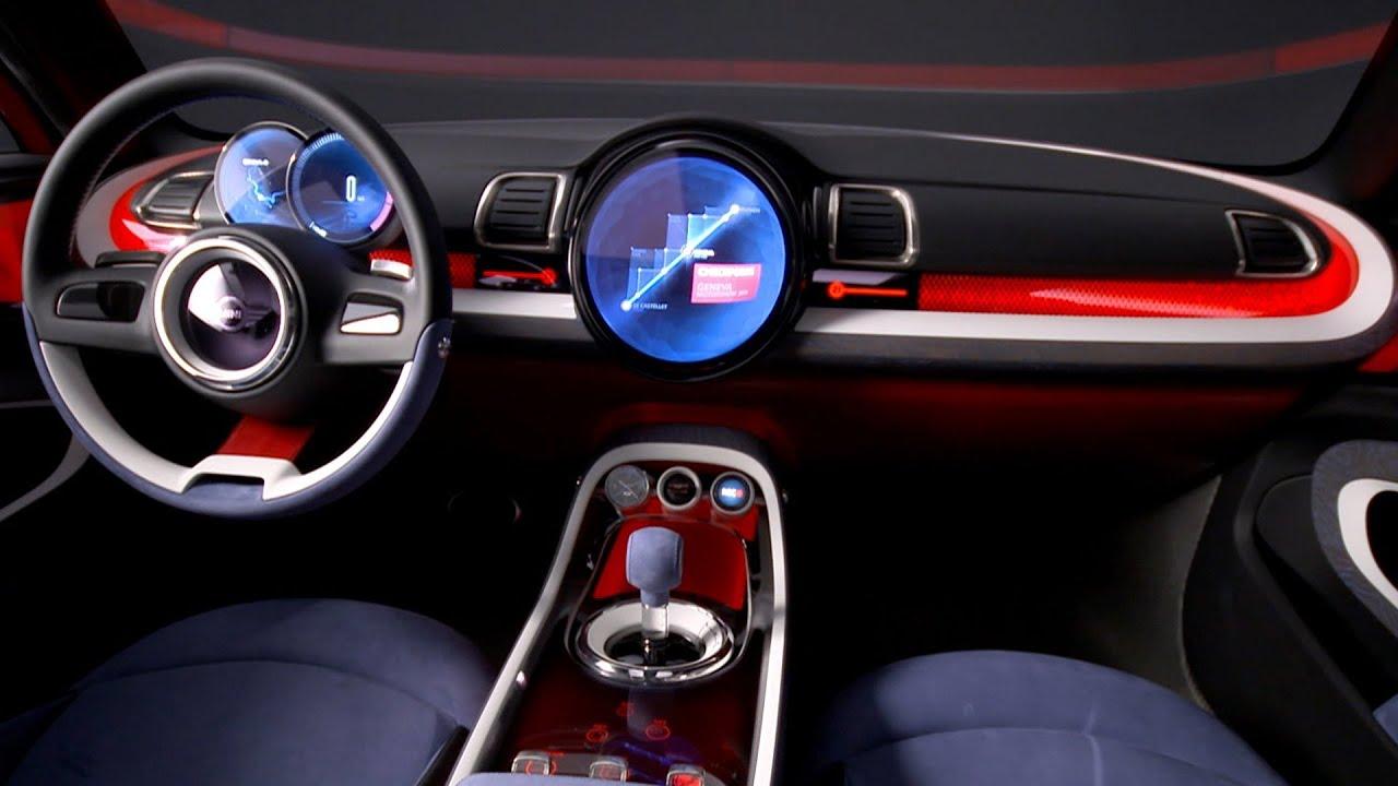 2014 Mini Clubman Concept INTERIOR 2014 Geneva Motor
