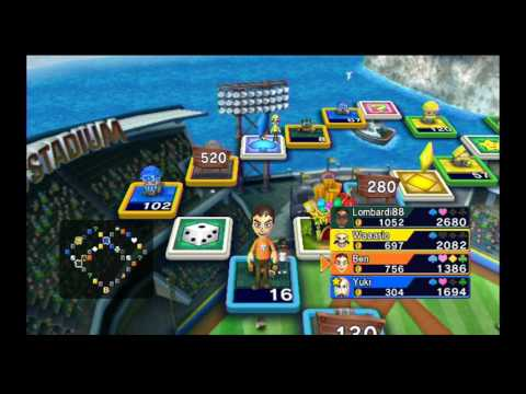 (Commentary) Fortune Street (Wii) - Mario Stadium (Standard)