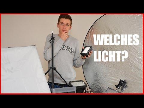 Video Beleuchtung - WELCHES LICHT KAUFEN? - Licht Guide - YouTube Licht | TUTORIAL [FULL HD]
