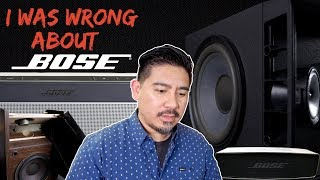 I Was Wrong About the Bose 301 IV