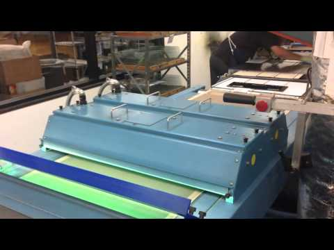 McIntosh Glass Faceplate Production