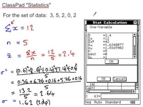 Classpad Statistics Youtube