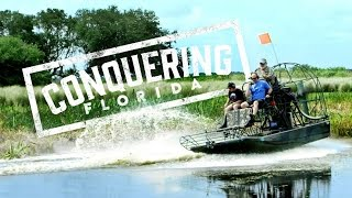 Conquering Florida: Airboating in Central Florida