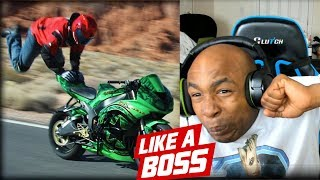 LIKE A BOSS COMPILATION REACTION #4