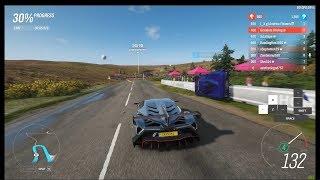 Forza Horizon 4 - How I Play With My Keyboard [Ranked Adventure]