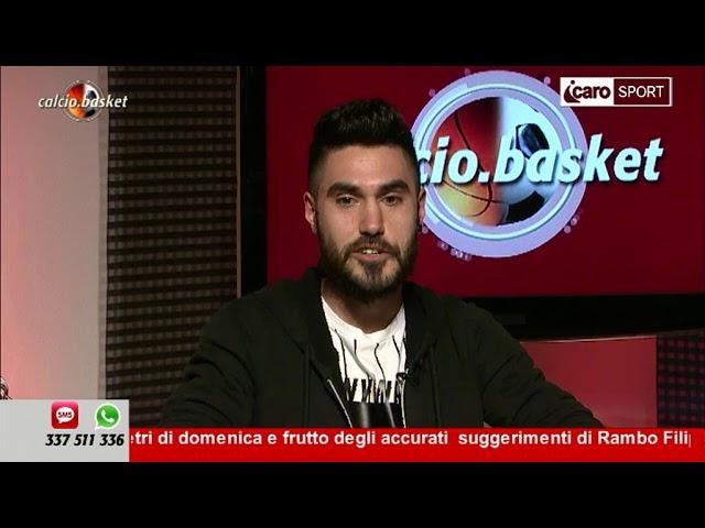 Icaro Sport. Calcio.Basket del 9 aprile 2018 - 1a parte