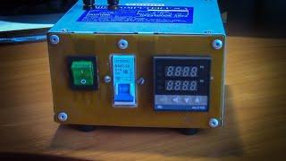 Блок управления нагревателями на контроллере REX C-100