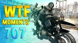 PUBG WTF Funny Daily Moments Highlights Ep 707
