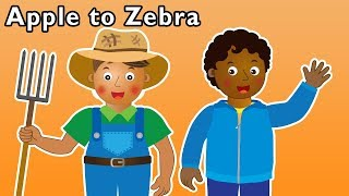 Apple to Zebra and More | BACK TO SCHOOL ABC RHYMES | Baby Songs from Mother Goose Club!