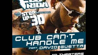 Flo Rida Feat David Guetta Club Can 39 t Handle Me Official Audio Video Step Up 3D