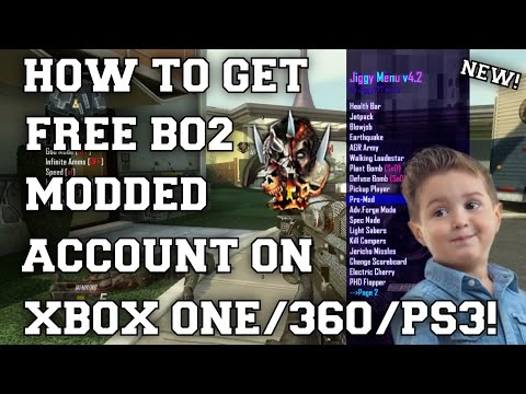 HOW TO GET FREE BO2 MODDED ACCOUNT! BLACK OPS 2 MODDED ACCOUNT GIVEAWAY FOR XBOX ONE/360/PS3!