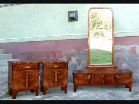 Art Deco Dressing Table. Art Deco Vanity.