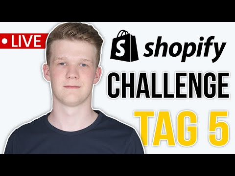 (Tag 5) SHOPIFY CHALLENGE: Wichtigsten Apps + Shopify Plan | Shopify Dropshipping CaseStudy thumbnail