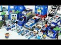 Let's go Transforming Police Car Toys with Pororo Friends