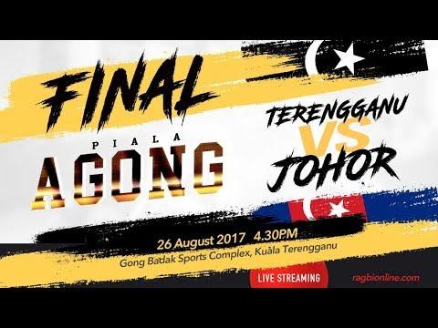 PIALA AGONG (2017) | FINAL | TERENGGANU VS JOHOR