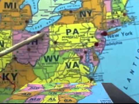 Pennsylvania Borders