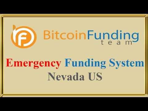 Emergency Funding System Nevada US