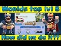 Clash Royale - Worlds highest Lvl 8 takes on Lvl 11!!!!!
