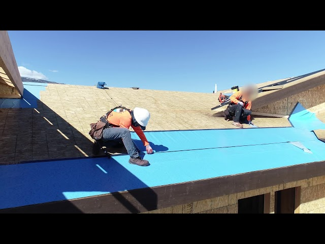 Blueskin® RF 200 Ice and Water Barrier Install