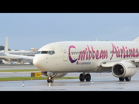 FSX -  PORT OF SPAIN - ST MARTEEN (POS-SXM) BOEING 737 800 CARIBBEAN AIRLINES