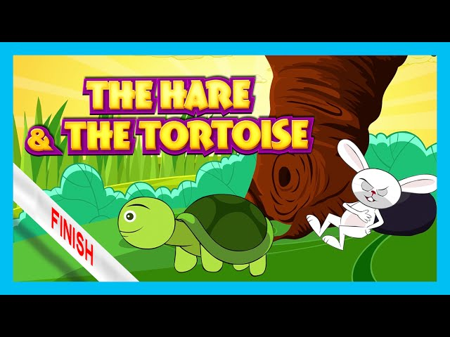 The Hare and The Tortoise Story | Bedtime Story by Kids Hut