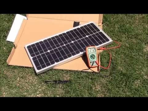 Litefuze 20W Solar Panel - Unboxing, Testing, And Review