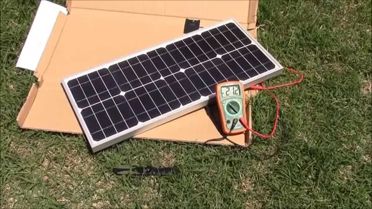 litefuze 20w solar panel unboxing testing and review youtube. Black Bedroom Furniture Sets. Home Design Ideas