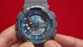 Ajustar La Hora A Un Reloj Casio G Shock Tipo Ga 110 Youtube