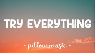 Try Everything - Shakira (Lyrics) 🎵