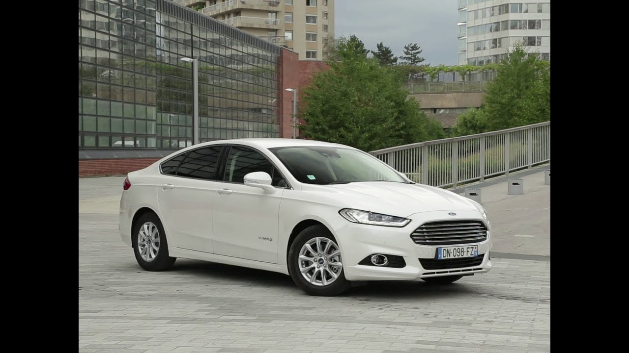 essai ford mondeo hybrid titanium 2015 youtube. Black Bedroom Furniture Sets. Home Design Ideas