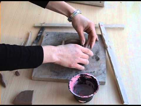 Clay And Plaster Relief Youtube