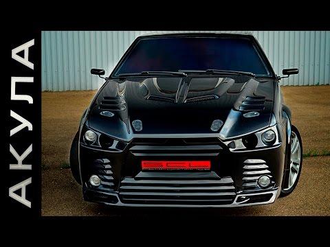 Безбашенный тюнинг ВАЗ 2108 Черная Акула Русские машины еще покажут Авто самоделки России