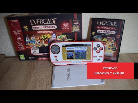 Evercade. Unboxing y análisis de la consola portátil #retro